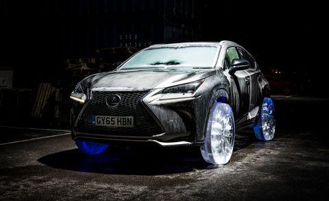 2017 Lexus Nx Ice Tire