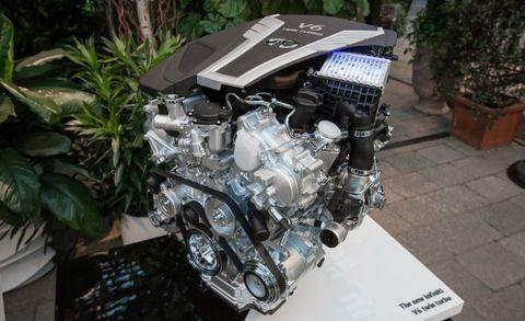 A Deeper Look at Infiniti's New Twin-Turbo 3 0-liter V-6