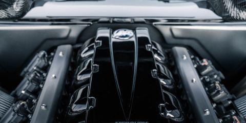 Automotive design, Automotive exterior, Luxury vehicle, Personal luxury car, Supercar, Engine, Performance car, Hood, Sports car, Automotive engine part,