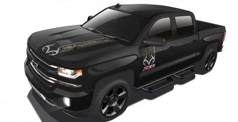 Because Camo Chevrolet Silverado Realtree Edition Announced