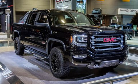 Back To The Sport Bar 2016 Gmc Sierra 1500 All Terrain X Model Goes Full Mcfly News Car And Driver