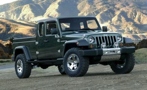 Jeep Wrangler Pickup Gladiator Concept