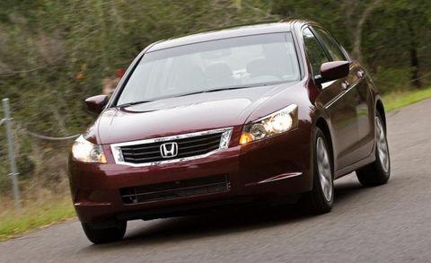 2009 Honda Accord Ex L Sedan Photo 260998