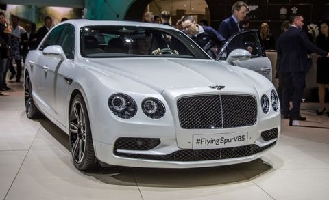 2016 Bentley Flying Spur V8 S Placement