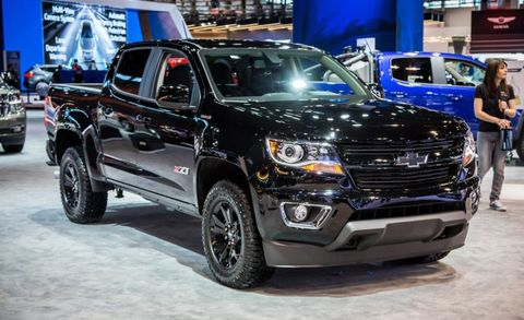 2018 chevrolet colorado z71 midnight edition