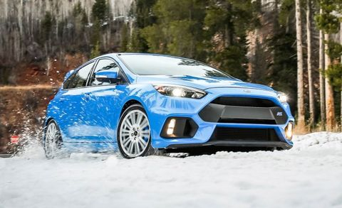2016 Ford Focus Rs With Winter Tire Package
