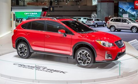 Vehicle Lease Deals >> Simply Red: The Subaru XV Crosstrek Special Edition – News