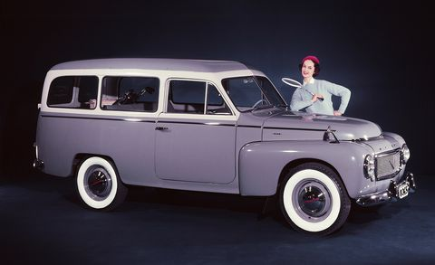 Land vehicle, Vehicle, Car, Classic car, Motor vehicle, Automotive wheel system, Volvo pv444/544, Classic, Coupé, Sedan,