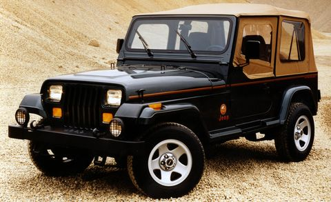The Complete Visual History Of The Jeep Wrangler From 1986 To Present