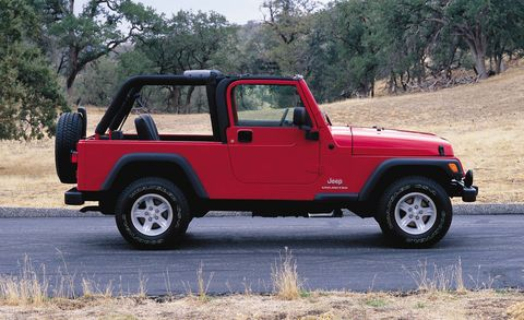 The Complete Visual History of the Jeep Wrangler, from 1986