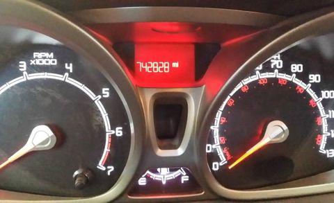2017 Ford Fiesta Odometer