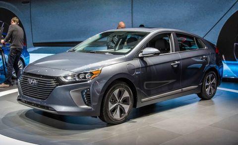 2017 Hyundai Ioniq Placement