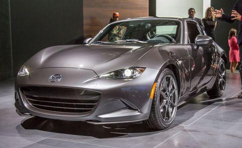 2017 Mazda Miata Rf Hardtop Convertible Priced News Car And Driver