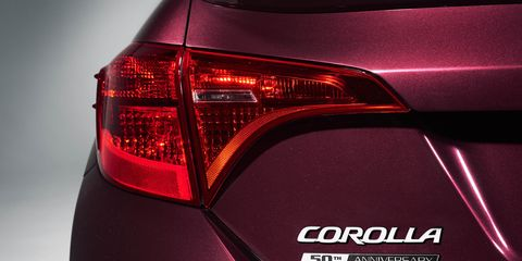 Image View Photos 2017 Toyota Corolla 50th Placement