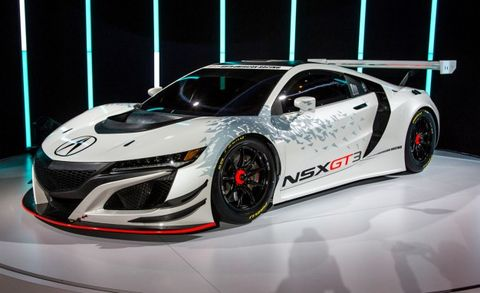 Acura Nsx Gt3 Race Car Placement