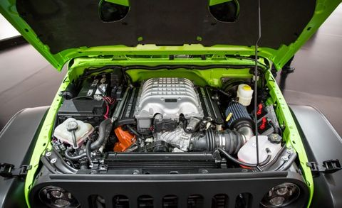 Jeep Trailcat Is The 707 Hp Hellcat Powered Wrangler From Hell