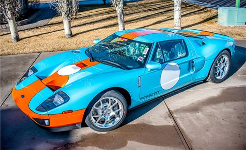 Brand New Gulf Blue 2006 Ford Gt Going Up For Auction News Car