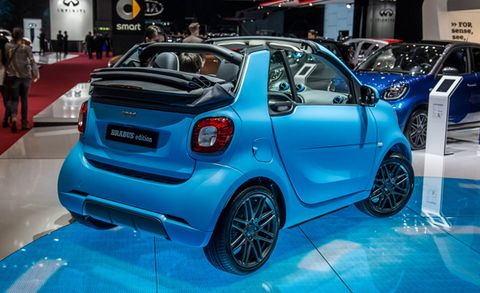 Smart Fortwo Cabrio Brabus Edition Brabus Sport Package Debut
