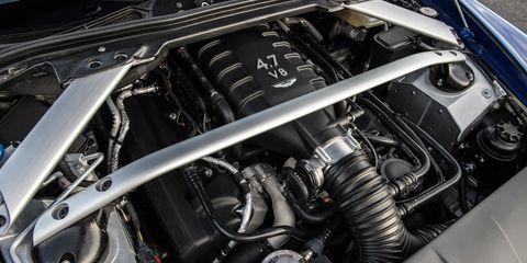 Automotive design, Engine, Automotive engine part, Automotive air manifold, Automotive fuel system, Personal luxury car, Automotive super charger part, Metal, Fuel line, Luxury vehicle,