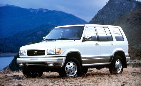 Land vehicle, Vehicle, Car, Sport utility vehicle, Isuzu trooper, Landscape, Isuzu,