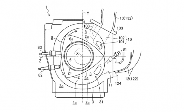 Mazda Files U.S. Patent for New-Gen Rotary Engine