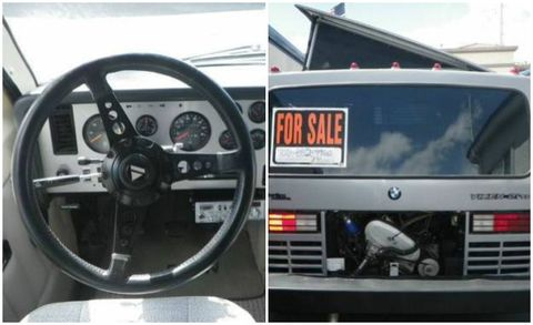 This Manual-Gearbox, BMW-Diesel Motor Home Is Epic – News