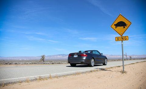 Road, Automotive design, Automotive tail & brake light, Vehicle, Infrastructure, Automotive parking light, Landscape, Rim, Automotive mirror, Car,