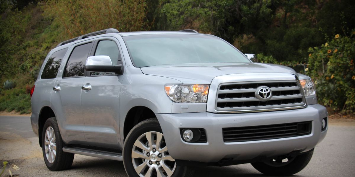2016 Toyota Sequoia Test Review Car And Driver
