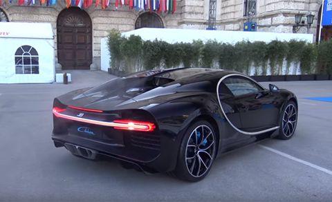 2017 Bugatti Chiron Revs Its Quad-Turbo, 16-Cylinder Engine