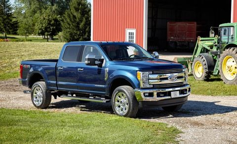 2017 Ford F Series Super Duty Placement