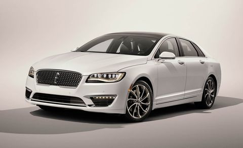 2017 Lincoln Mkz Placement