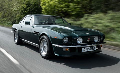 We Drive Aston Martin Ceo Andy Palmer S Vintage Vantage News Car And Driver