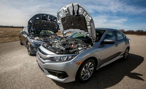 Civic Ex Turbo >> A Tale Of Two Honda Civics Turbo Vs Non Turbo Fuel Economy