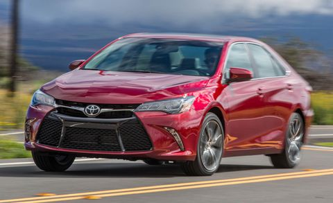 2017 Toyota Camry Placement