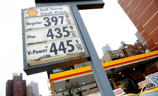 gas prices at shell station