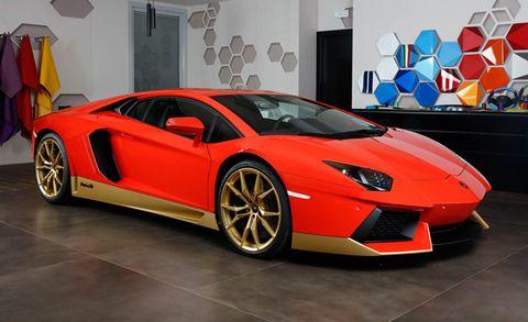 Lamborghini Announces Limited Aventador Miura Homage News Car