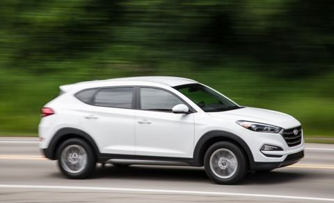 Hyundai Recalls 41,000 Tucson Crossovers for Delayed