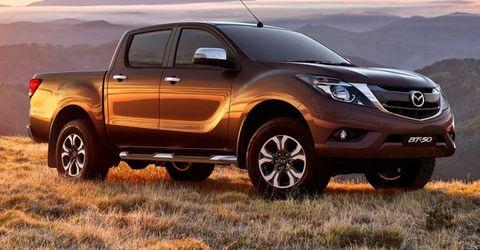 Mazda Picks Isuzu As Pickup Partner