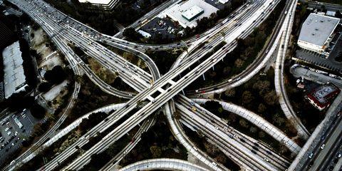 Metal, Silver, Intersection, Junction, Steel,