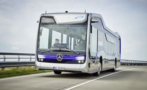 Mercedes-Benz, Tesla Looking To Electric, Self-Driving Buses