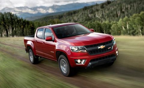 2017 Chevrolet Colorado Adds New V-6, 8-Speed Automatic ...