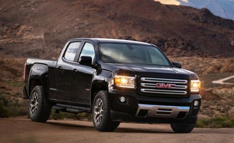 As Chevy Goes So Gmc 2017 Canyon Also Adds New V 6 Eight Sd Automatic