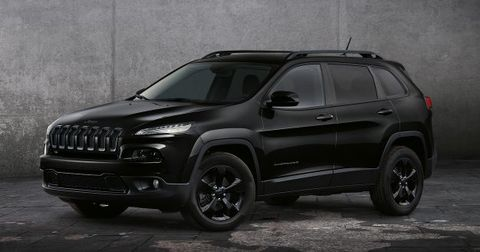 Jeep Cherokee Night Eagle Ii Special Edition Takes Paris News Car And Driver
