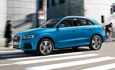2017 Audi Q3 Placement