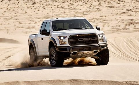2017 Ford F 150 Raptor Placement