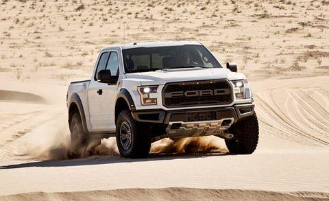 Ford Confirms 2017 Raptor Horsepower And Torque Figures
