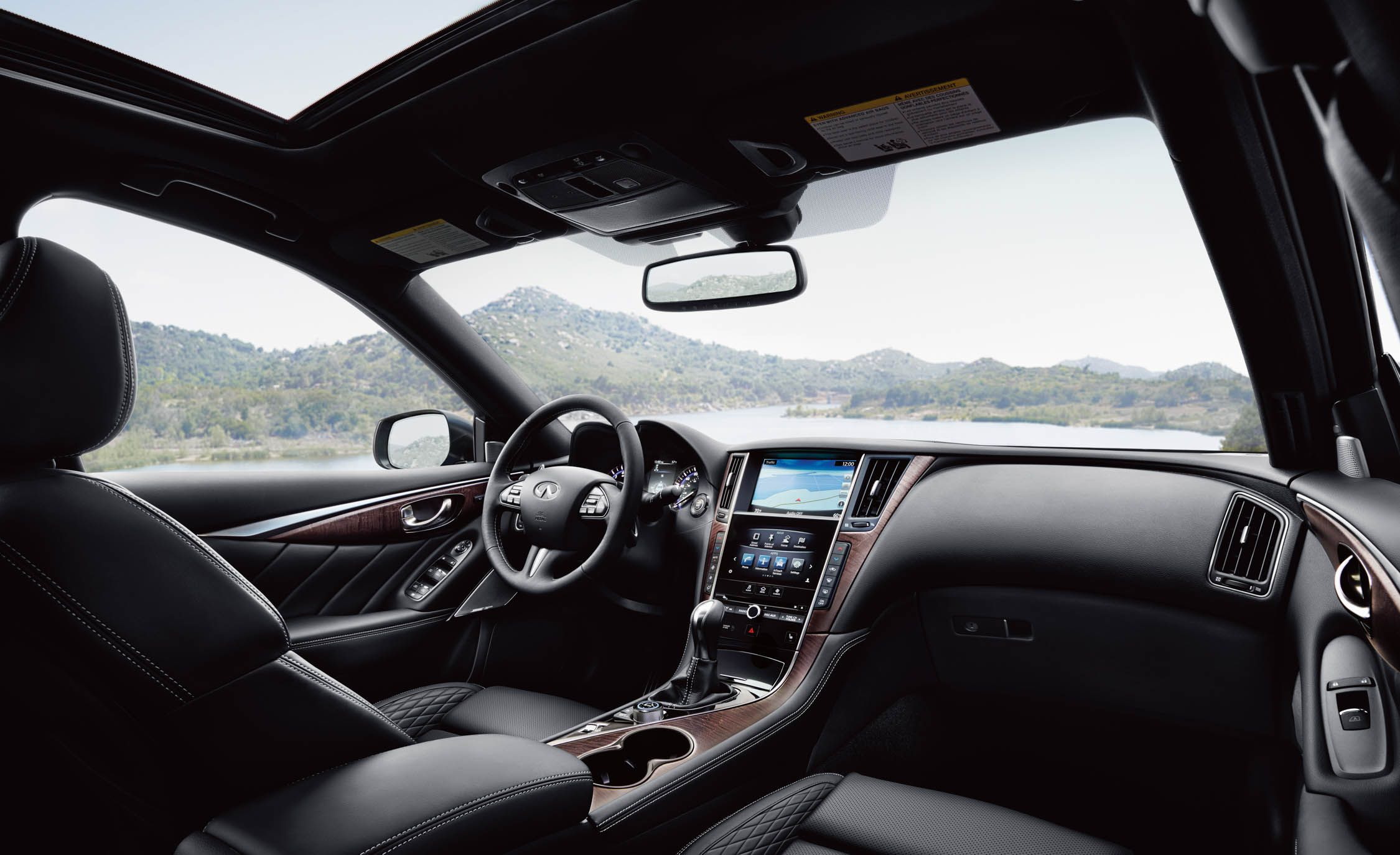 2017 Infiniti Q50 Gains Clier Interior Options New Bose Audio System News Car And Driver