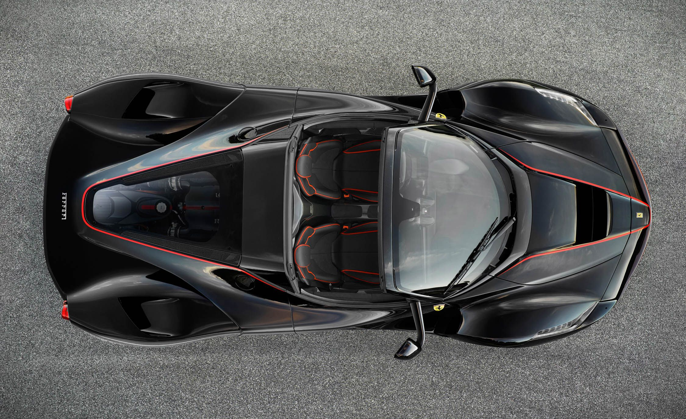 Ferrari LaFerrari Aperta Now You See It \u2013 News \u2013 Car and Driver