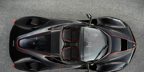 Ferrari Laferrari Aperta Now You See It News Car And Driver
