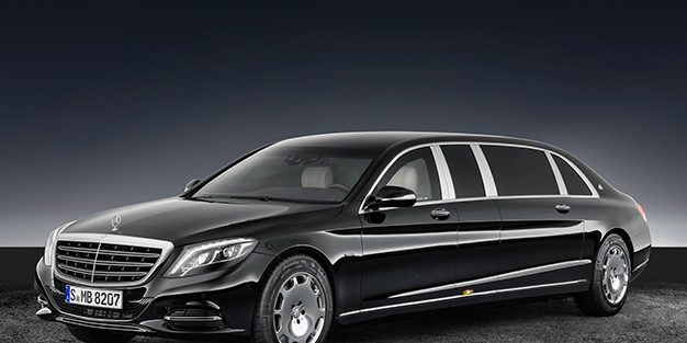 Guard Your Life With The Armored Mercedes Maybach S600 Pullman Guard